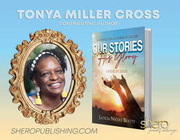 Accented Glory's visionary and accessory designer Tonya Cross new book Our Stories His Glory